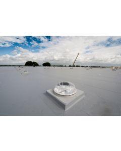Solatube Ø 53 cm Set vierkant eco dakdoorvoer plat dak prefab dubbele koepel
