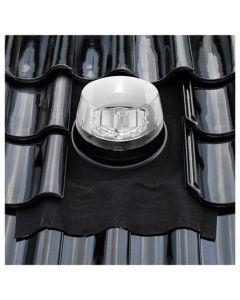 Solatube Ø 35 cm set vierkant dakdoorvoer hellend dak ubiflex