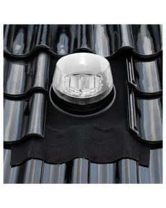 Solatube Ø 35 cm set vierkant eco dakdoorvoer hellend dak ubiflex